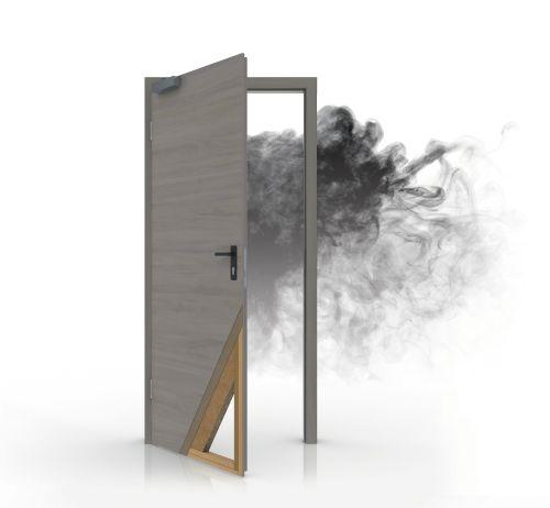 rauchschutz t relemente von pr m af t ren m bel essen. Black Bedroom Furniture Sets. Home Design Ideas