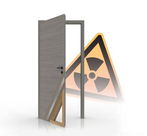 Strahlenschutz Türelemente