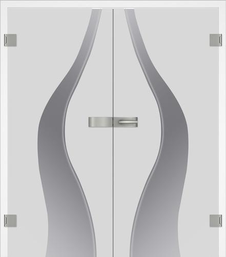 Prüm Glastüren 2-flügelig kaufen - BAMBUS - DUO - Centro - ONDA - AF Türen Essen